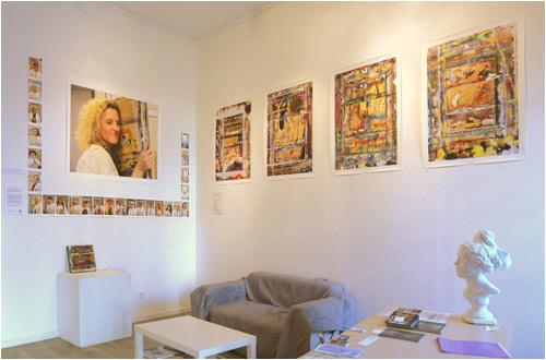 exhibition of Les Chevalets de Saint Paul